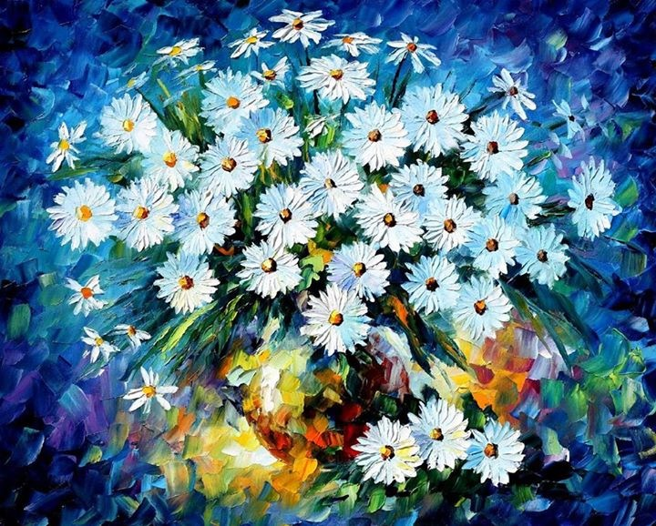 мастер-класс, мастер-классы, мастер класс, масло, масляная живопись, масляные краски, холст, холст масло, афремов, цветы