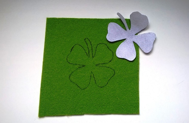 DIY on Creating a Cloverleaf Brooch for Luck, фото № 2
