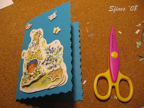 фигурные открытки своими руками
