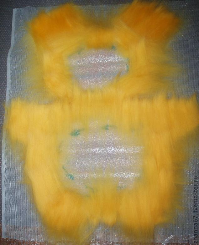 примитивная игрушка, игрушки из шерсти
