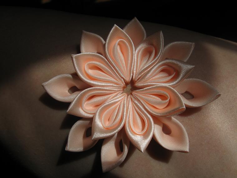 цветы из ткани обучение, мастер-класс