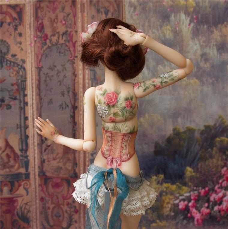 шарнирная кукла, кукла