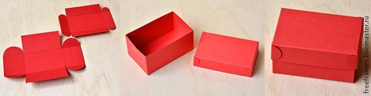 мастер-класс, ращмер коробки