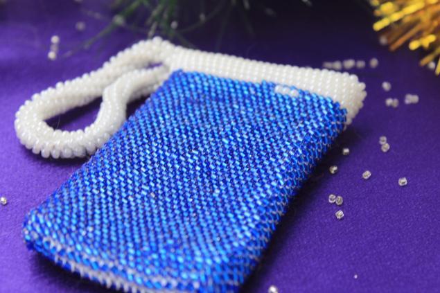 вязание бисером, уроки по вязанию бисером