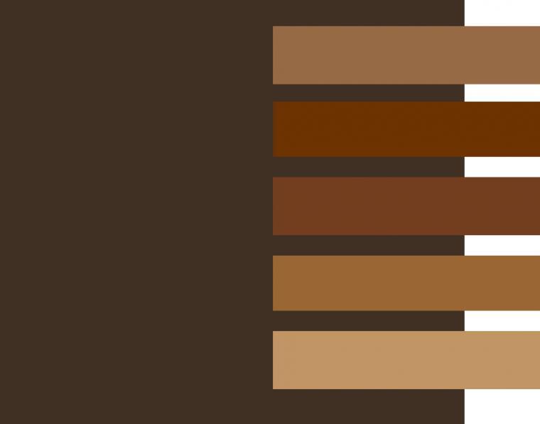 Жираф малогабаритный цвета шоколада