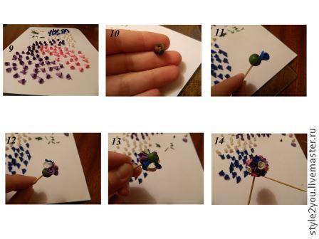 Серьги шары из полимерной глины, фото № 3