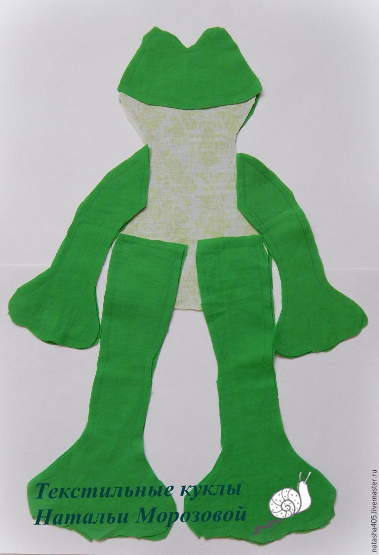 Шьем забавную лягушку, фото № 3