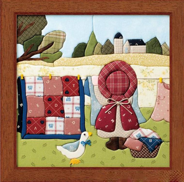 Картины из пенопласта и ткани своими руками
