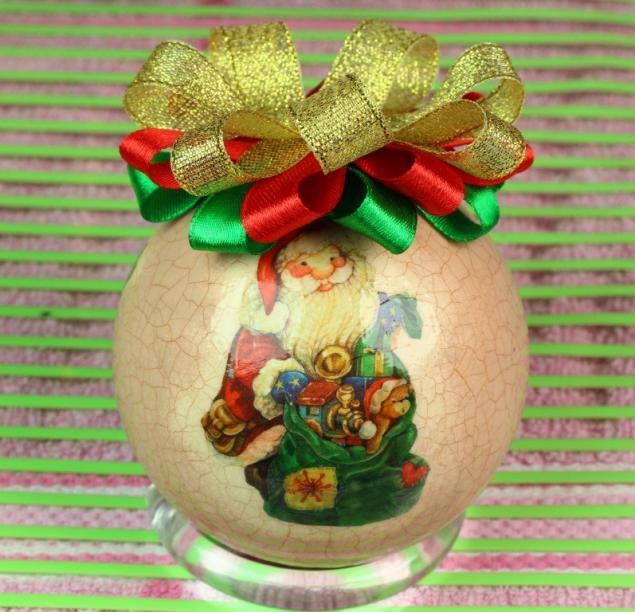 подарок своими руками, новогодний сувенир