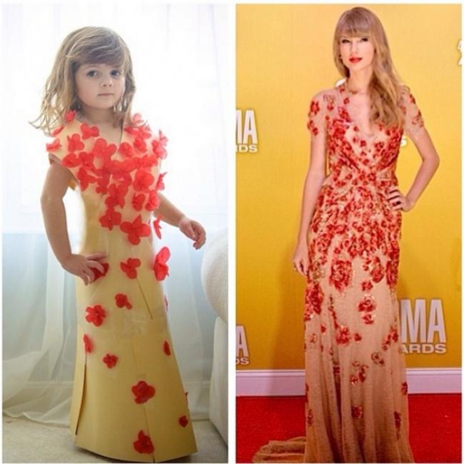 Платье своими руками из подручных материалов