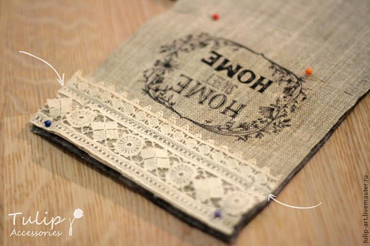 корзинка из ткани