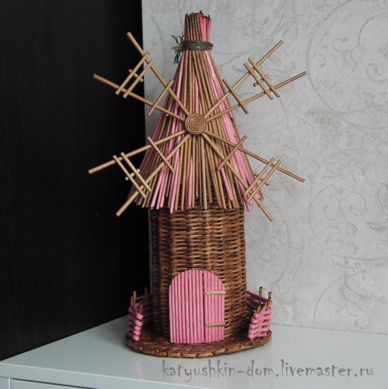 галерея, плетение из бумаги