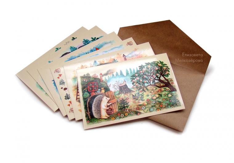 наборы открыток почтовые для нашей съемочной