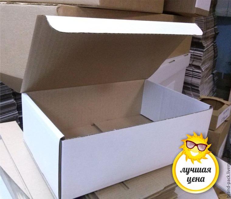 акция магазина, акции и скидки, коробки, крафт, упаковка для подарка, белая коробка
