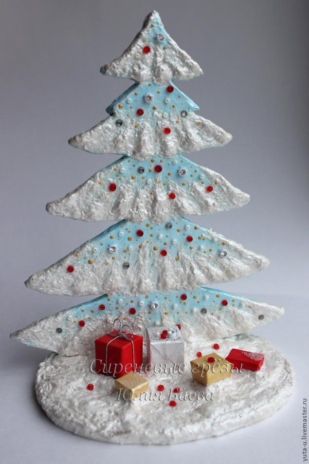 Рождественская ёлочка своими руками