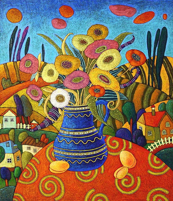 этническая живопись