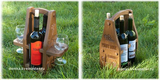 короб для вина, для двоих, подарок