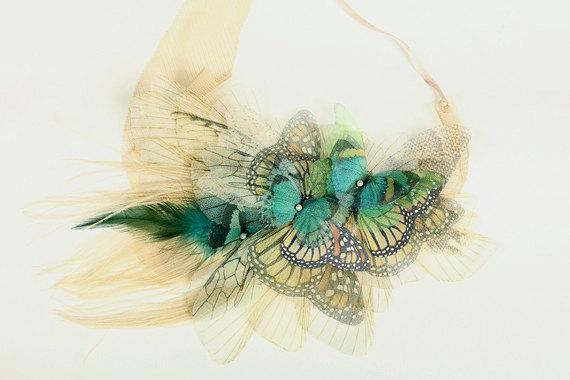 Бабочки своими руками из органзы