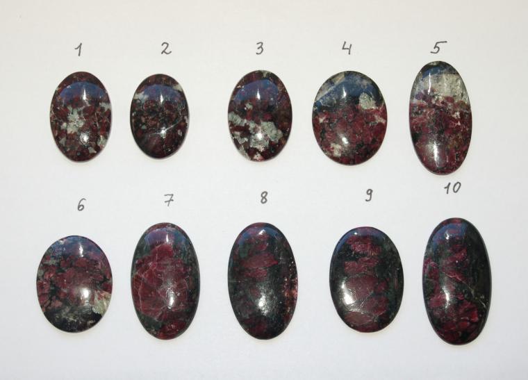 эвдиалит, камни для украшений