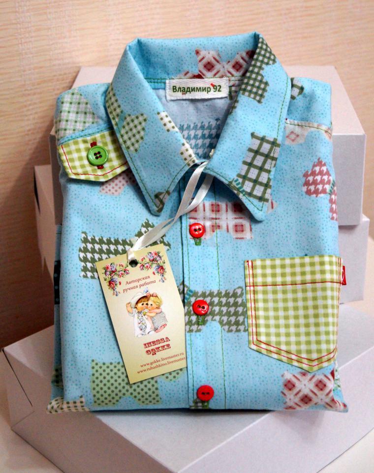 рубашка, дизайнерская одежда