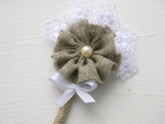Льняная свадьба. Идеи для вдохновения, фото № 34