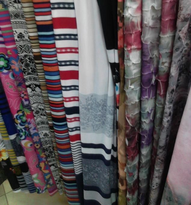 ткани для пошива платьев
