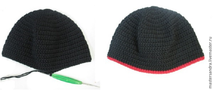 Вязаная шапочка «Минни Маус», фото № 2