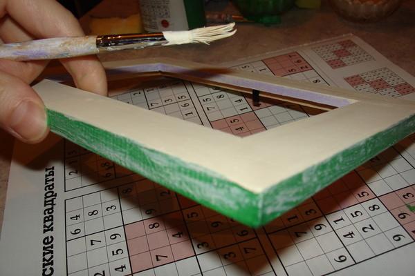 Декорируем рамку в технике декупаж, фото № 8