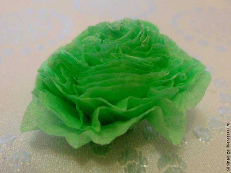 Новогодняя елочка из бумажных салфеток своими руками, фото № 18