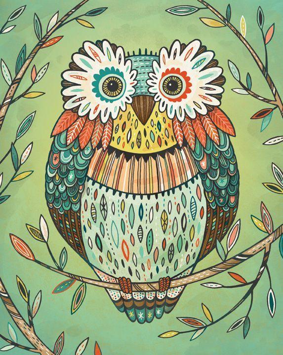 Anni Betts- owl
