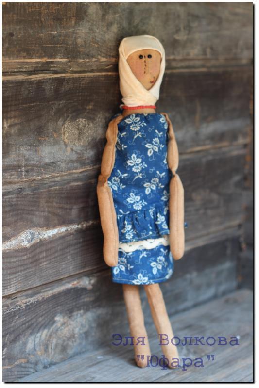 примитив, интерьерная кукла, кофе, чердачная кукла