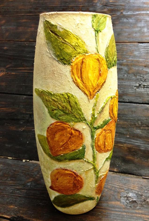 оригинальный подарок, роспись вазы