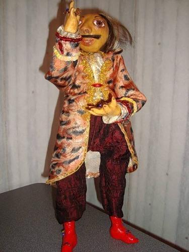 Как сделать будуарную куклу фото 920