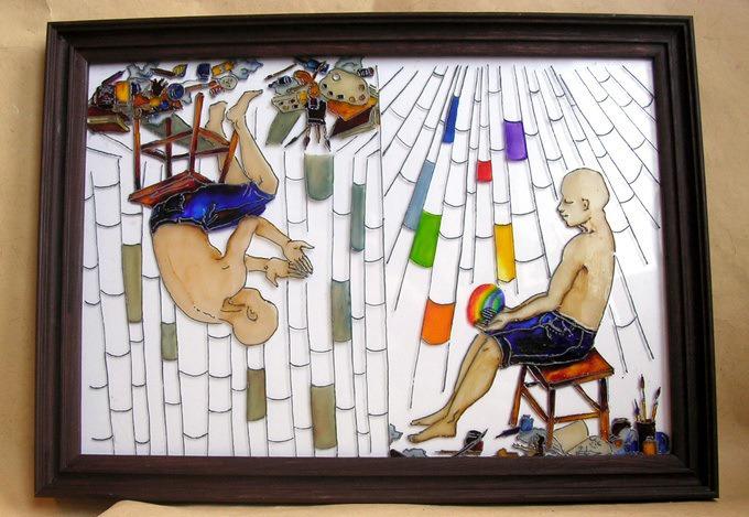 Рисуем на стекле, фото № 13
