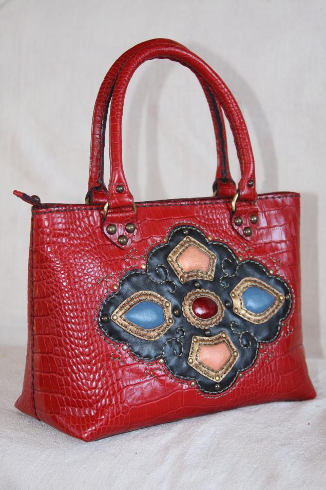 Ручное изготовление сумок из кожи