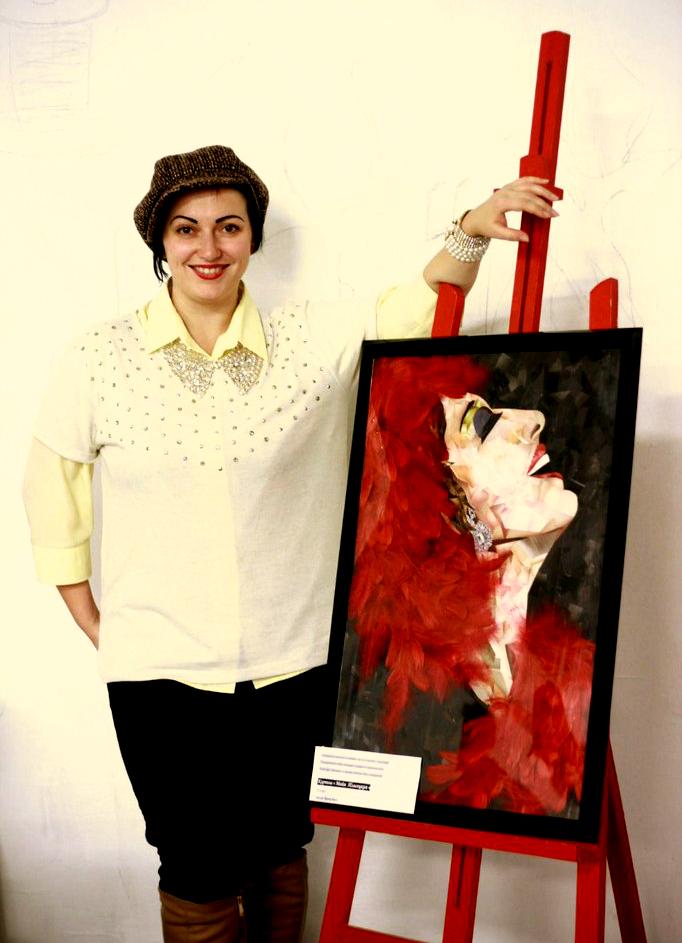 выставка ирины баст, великая женщина картина