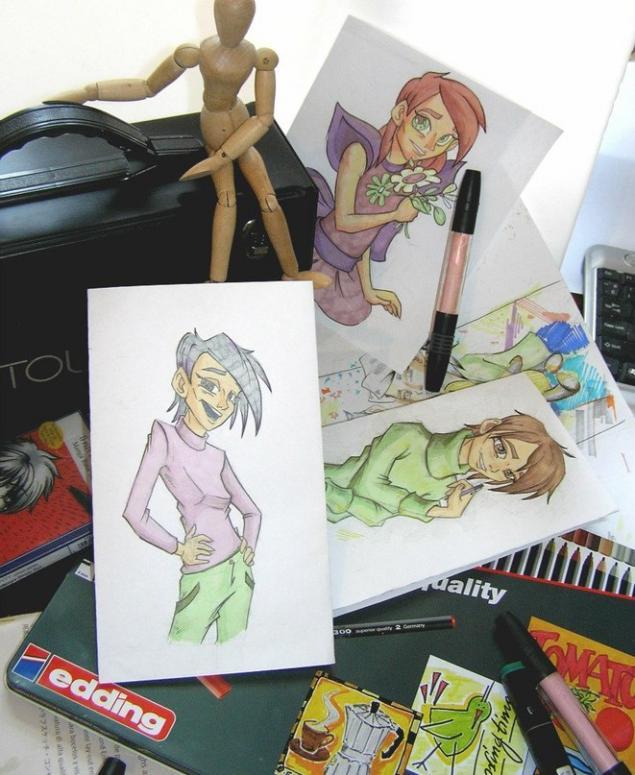 мастер-класс, рисование, стиль манга, мастер-класс для детей, граффити, уроки рисования, цветные карандаши
