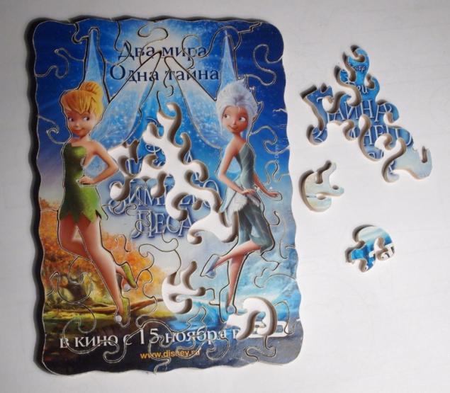 jigsaw puzzle, фея