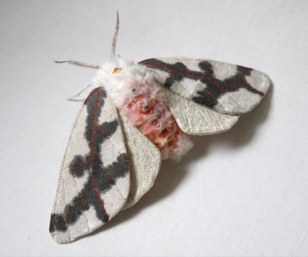 Дивные текстильные насекомые от мастера Yumi Okita, фото № 7