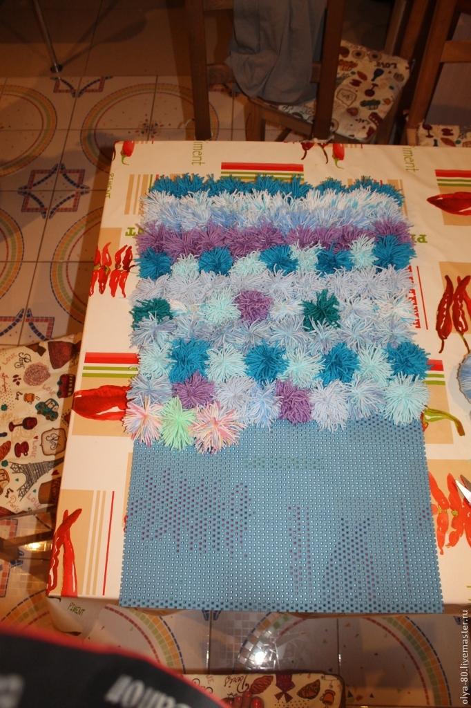 Процесс создания веселого коврика, фото № 14