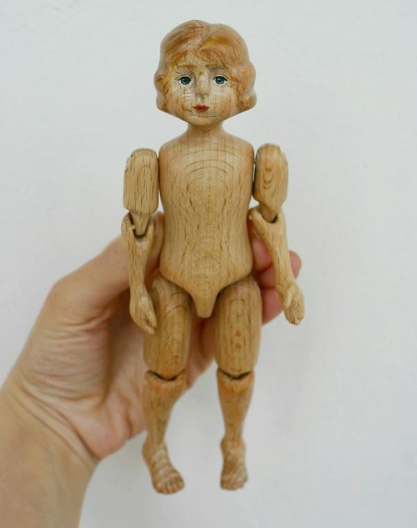 Куклы из дерева своими руками мастер класс 93
