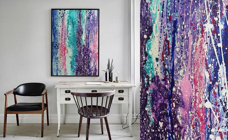 современное искусство, абстракция, картина в офис