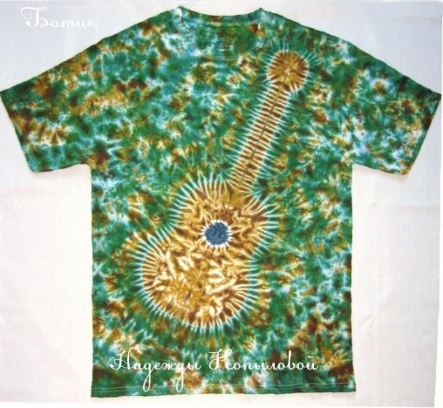 футболки, роспись футболок