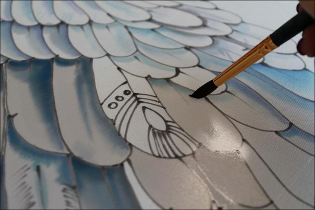Мастер-класс по холодному батику. Запаривание шелка. , батик, мастер класс по батику, холодный батик, роспись по шелку, шелк, запариватель для батика, красители для батика, материалы для батика, роспись платка, платок, роспись ткани.