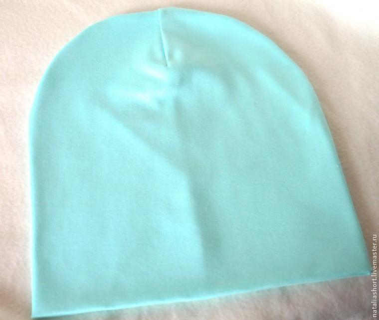 Как сшить трикотажную шапку своими руками