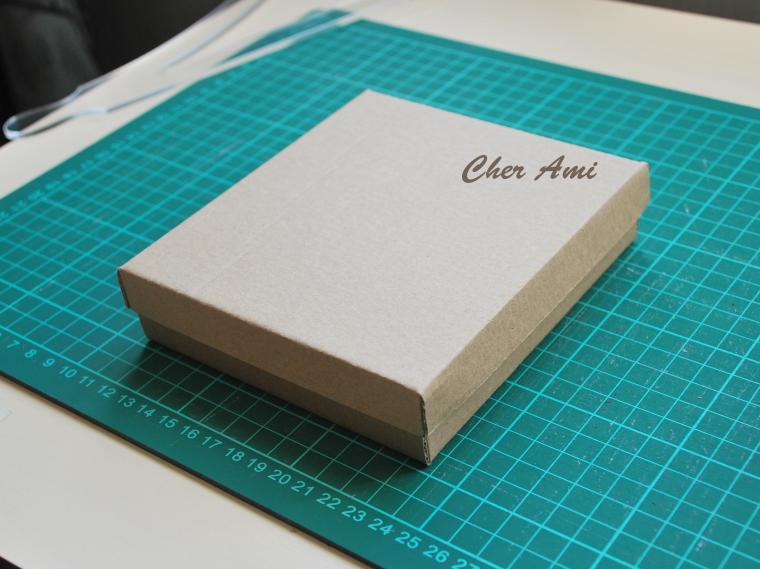 Как сделать коробку и картона с крышкой 170
