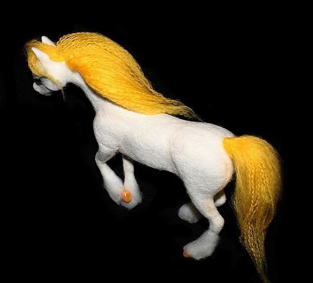 Мастер класс валяние лошадь