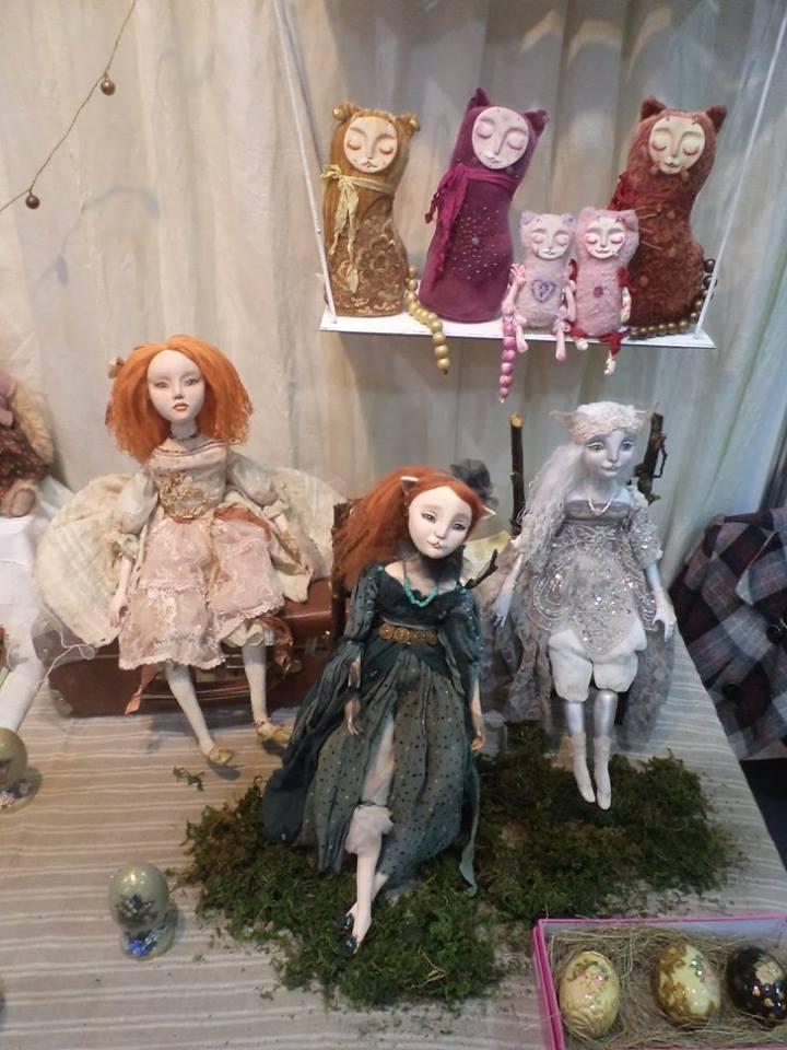 модная кукла, сказка