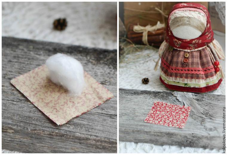 Мастер-класс: куколка-оберег «Девочка с конфеткой» - Ярмарка Мастеров - ручная работа, handmade