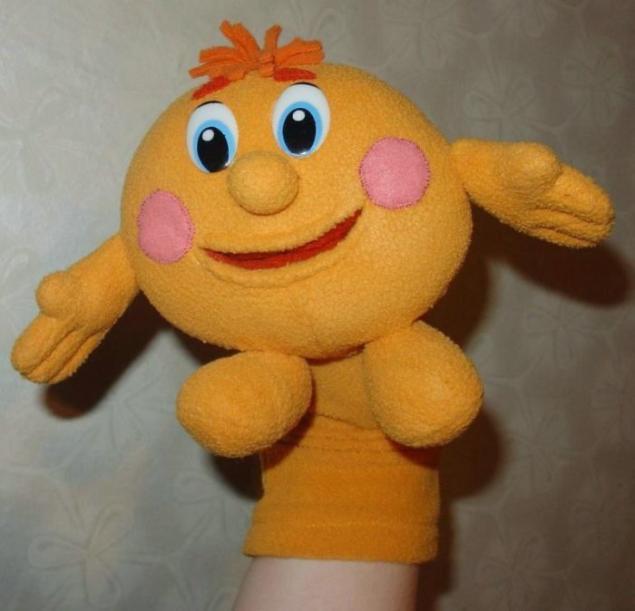 Колобок игрушка своими руками выкройки